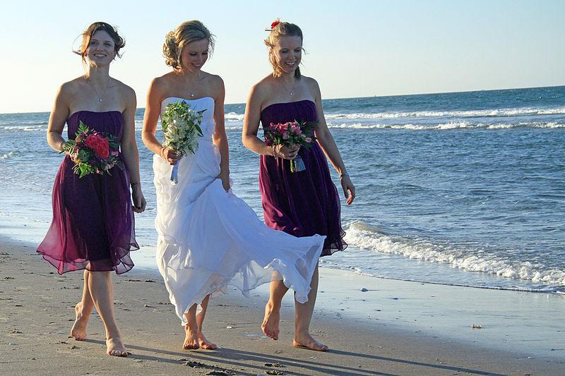 destination beach wedding dresses